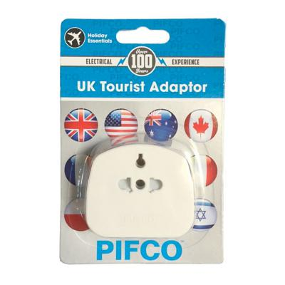 PIFCO UK Tourist Adaptor