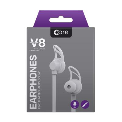 Core V8 Earphones White