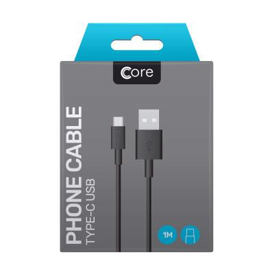 Core Type-C to USB Cable 1M Black