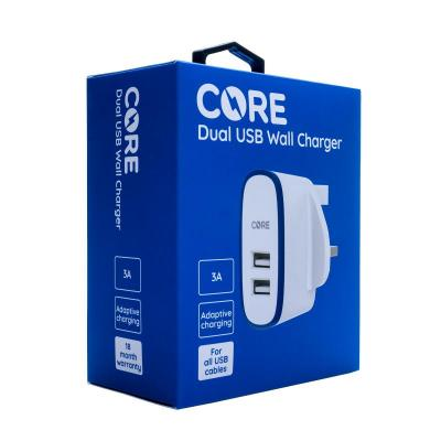 CORE Dual USB Wall Charger 3A