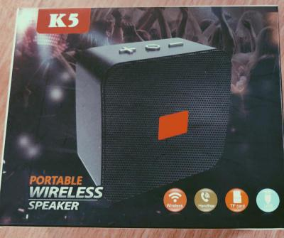 K5 Bluetooth Speaker Black