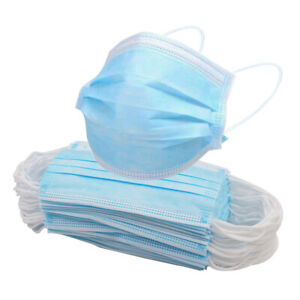 3 ply face mask 50 pack