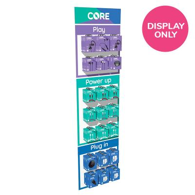 CORE Bolt Small Slatwall – Display Only