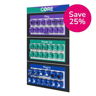 Core Bolt Large Slatwall Bundle