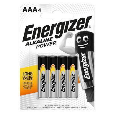 ENERGIZER AAA ALKALINE POWER PACK OF 4
