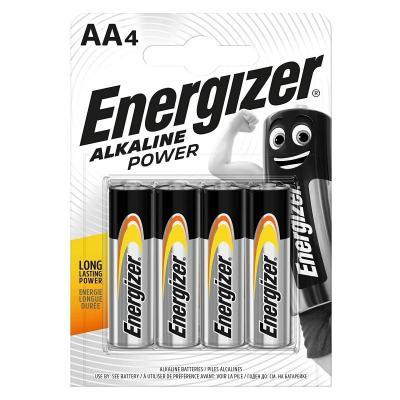 ENERGIZER AA ALKALINE POWER PACK OF 4