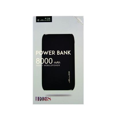 Jellico Power Bank 8000mAh Black