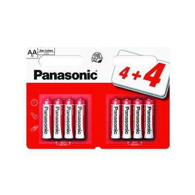 Panasonic Zinc AA Batteries 8 pack