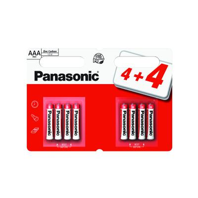 Panasonic Zinc AAA Batteries 8 pack