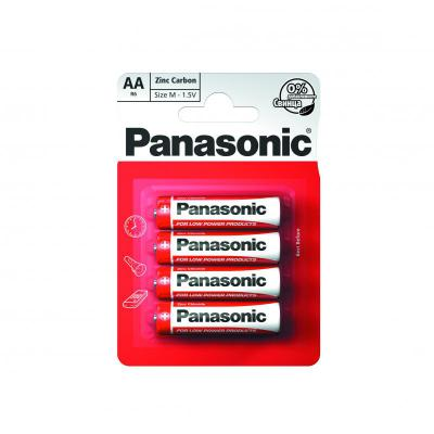Panasonic Zinc AA Batteries 4 Pack