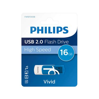 Philips USB 2.0 16GB Vivid Edition Blue
