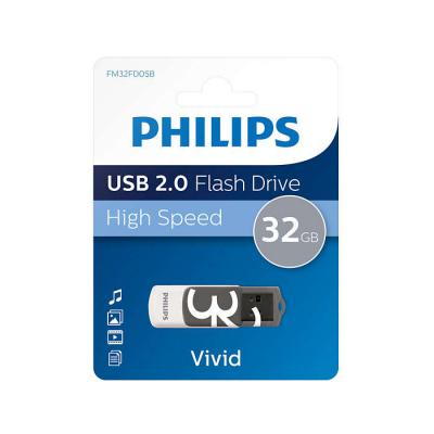 Philips USB 2.0 32GB Vivid Edition Grey